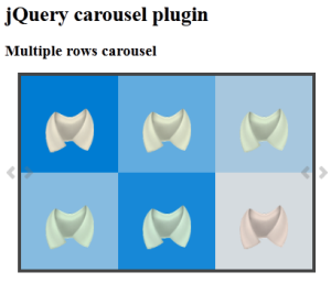 Multiple Rows Carosel Jquery Plugin